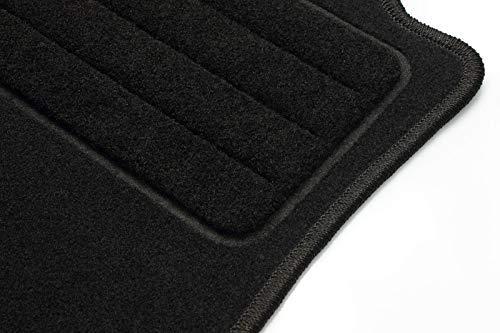 2012-2019 Basic TEXER Textil Fu/ßmatten Passend f/ür Ford C-Max II Bj
