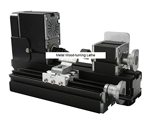 TZ20003M 60W Metal Wood-turning Lathe/60W,12000rpm powerful metal wood working lathe by MUCHENTEC