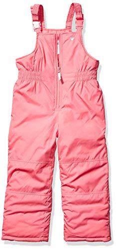 Carter's Girls' Toddler Snow Bib Ski Pants Snowsuit, Rosalie Pink, 4T