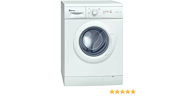 Balay 3TS863 Independiente Carga frontal 6kg 1000RPM A+ Blanco ...