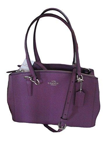 Purple Coach Handbag - 8