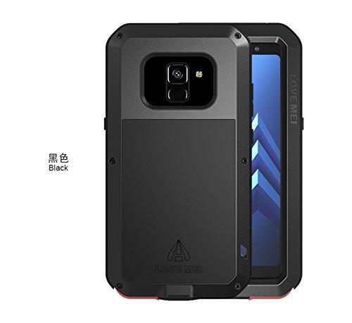 more photos 532f4 8e1a1 Amazon.com: Love MEI Samsung Galaxy A8 Case, Galaxy A8 Metal Case ...