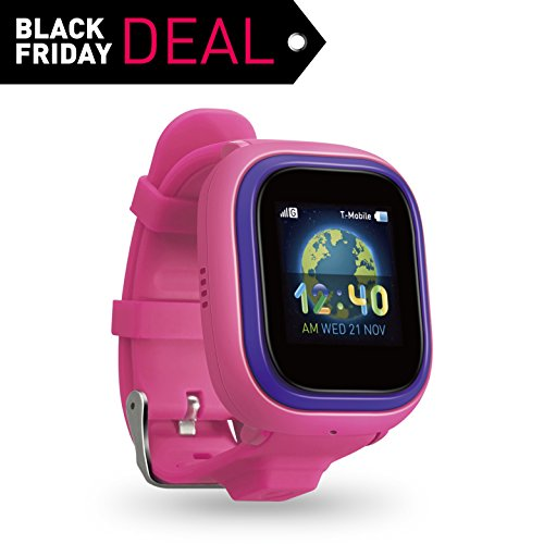 NEW TickTalk 2.0 Touch Screen Kids Smart Watch, GPS Phone watch, Anti Lost GPS tracker with New App, Better Positioning Chip, Things To Do Reminder, Phone/Messaging (SIM CARD INCLUDED) (Pink) by TickTalk