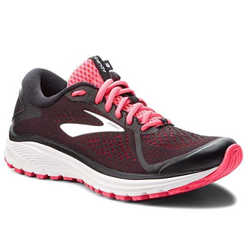 Aduro Chaussures Pink Black Femme 090 6 Silver Brooks Running Multicolore de dEnUqd67H