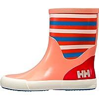 Helly Hansen Boys and Girls Waterproof Nordvik Stripe Youth Rain Boots