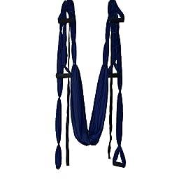 Inversion Sling - Yoga Swing (Dark Blue) + Yoga Back DVD
