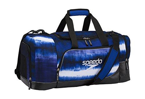 Speedo Teamster Duffle Bag, Tie Dye Royal, 38 L
