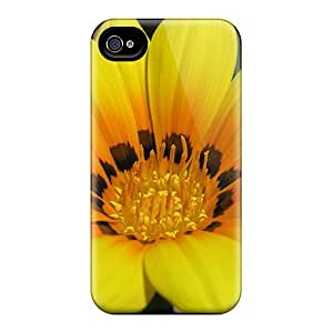 4/4s Scratch-proof Protection Case Cover For Iphone/ Hot Beauty Yellow Phone Case