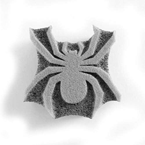 Ruby Red Face Painting Stamp - Spider Face -