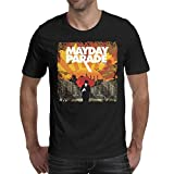 Black Men's Tshirts Mens MayDay-Parade-A-Lesson-in-Romantics- Cotton Short Sleeve