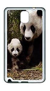 Samsung Note 3 CasePanda Family TPU Custom Samsung Note 3 Case Cover White