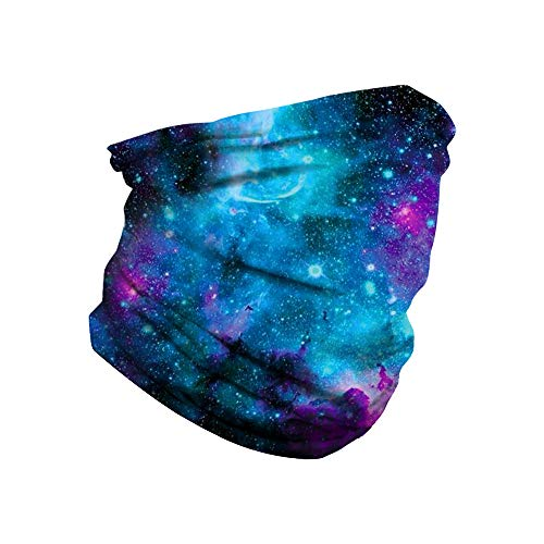 Face Mask Mouth Cover Bandana Neck Gaiter Headwear for Dust, Outdoors, Festivals, Sports, Motorcycling
