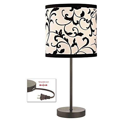 Black Filigree Lamp - 4