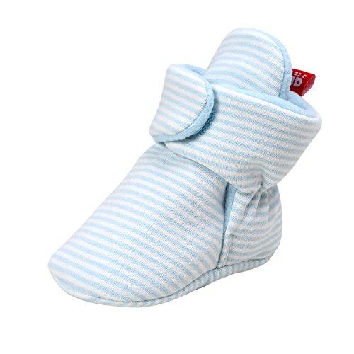 kuner-unisex-baby-newborn-coral-velvet-warm-boots-first-walkers-crib-shoes-11cm0-6months-blue-strips