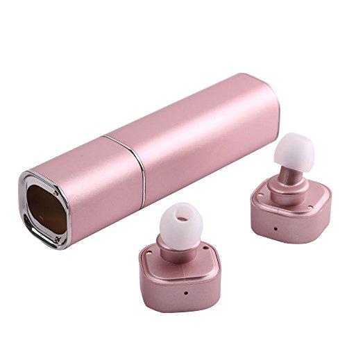 TOPQSC Bluetooth Headphones Earphones Smartphone Pink