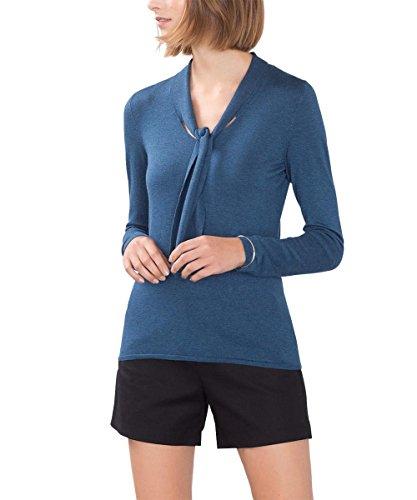 ESPRIT Collection, Suéter para Mujer Azul (Petrol Blue 5 454)