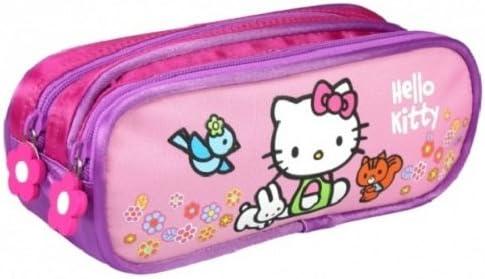 Hello Kitty A23 - Estuche escolar, diseño de Hello Kitty: Amazon.es: Juguetes y juegos