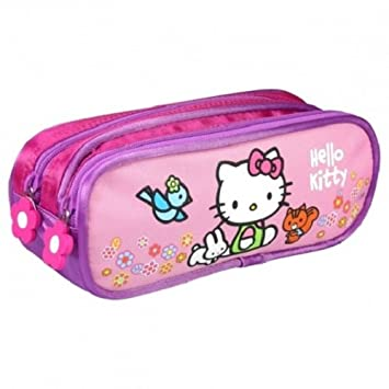 Hello Kitty A23 - Estuche escolar, diseño de Hello Kitty ...