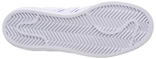 Superstar Silver White Metallic adidas J Weiß Ftwr Kinder White Top Ftwr Low sld Unisex wPf7E