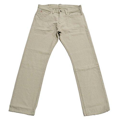 Polo Ralph Lauren Classic Fit Mens 867 Jeans (Hudson Bone, 32x34)