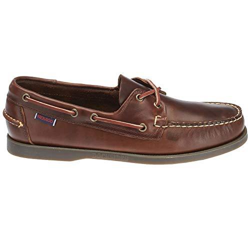 Sebago Men's Docksides Boat Shoe,Brown,11.5 W US DOCKSIDES