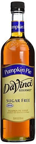 (Da Vinci Sugar Free Pumpkin Pie Syrup, 750 ml)