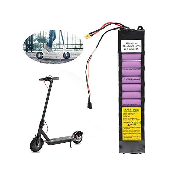 Keenso Battery Pack, 36V 7800mah Intellligent Scooter Battery Pack per Xiaomi M365 Scooter Elettrico con Batteria al Litio 1 spesavip