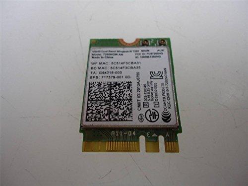 Intel 7260NGW Dual Band Wireless-AC 7260 802.11ac, Dual Band, 2x2 Wi-Fi and Bluetooth (Series 802.11a/b/g Mini)