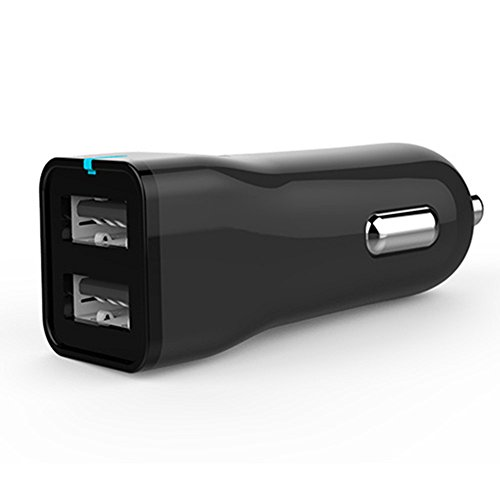 ZACAR Dual USB Car Charger , Mini Car Adapter with Fast iSmart 2.0 Charging Tech for iPhone X / 8 / 7 / 6s / Plus, iPad Pro / Air - Premium Outlets Nearby