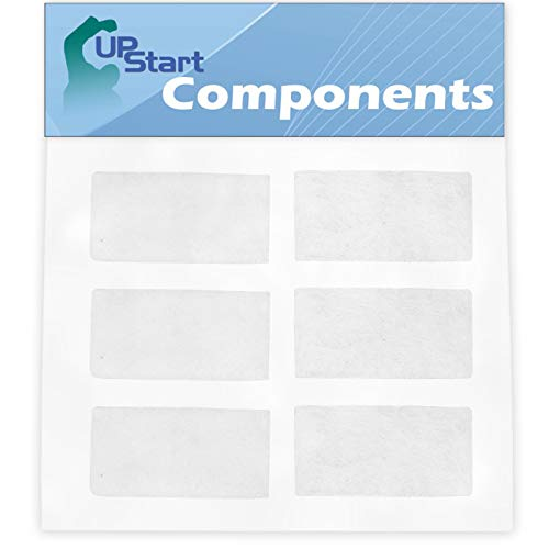 6 Replacement Ultrafine CPAP Filter Without Tab for Respironics PR System One BiPAP Auto by UpStart Components (Image #4)
