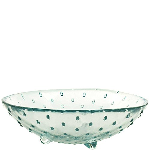Couronne Company G7329 Porcupine Recycled Glass Bowl, 8