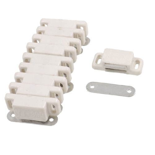 White Plastic Housing Plate Magnetic product image