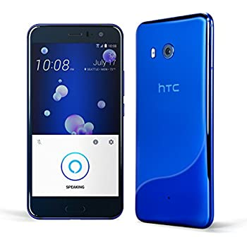 HTC U11 with hands-free Amazon Alexa – Factory Unlocked – Sapphire Blue – 64GB