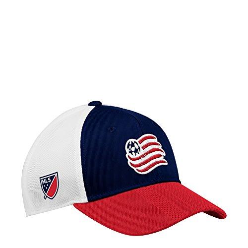 adidas New England Revolution Hat Authentic Structured Adjustable Trucker Hat