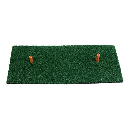 Alloet Golf Mat Golf Mat Golf Ball Tray Residential Practice Hitting Mat Rubber Tee Holder Golf Practice