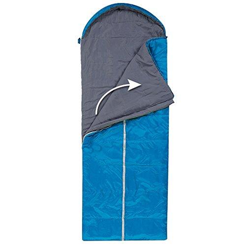 QFFL shuidai Enveloppe sac de couchage/Splicable imperméable à l'eau/idéal pour 4 saisons de voyage Camping randonnée sac de couchage rectangulaire (190 + 30) * 75cm