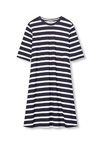 400 Navy ESPRIT by edc Damen Mehrfarbig Kleid HnpwYq