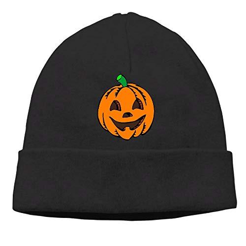 Halloween Hats Clipart (Men's&Women's Pumpkin Clipart Halloween Soft Beanie)