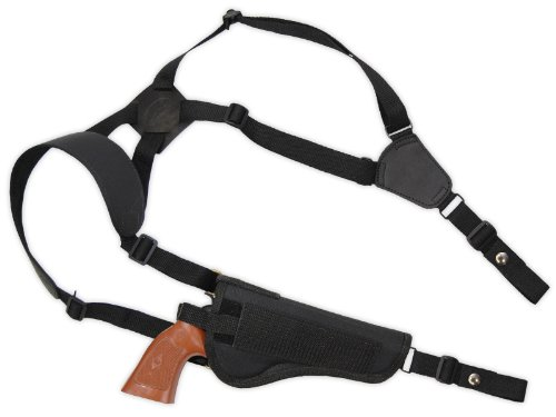 "Barsony Revolver Shoulder Holster Fits 5-6.5"" COLT TROOPER right"