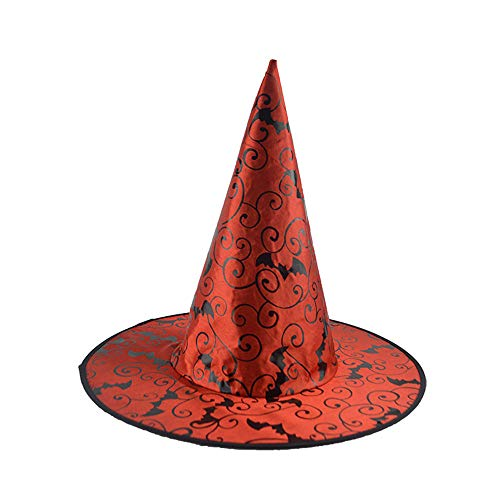 Women Men Halloween Witch Hat Costume Party Raven Wizard Cosplay Capes -