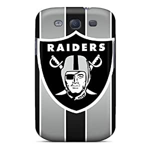YOXIGKL Premium Protective Hard Case For Galaxy S3- Nice Design - Oakland Raiders