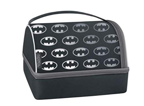 Thermos Batman Lunch Box Set with Pack In - Black (Batman Lunch Box With Thermos)