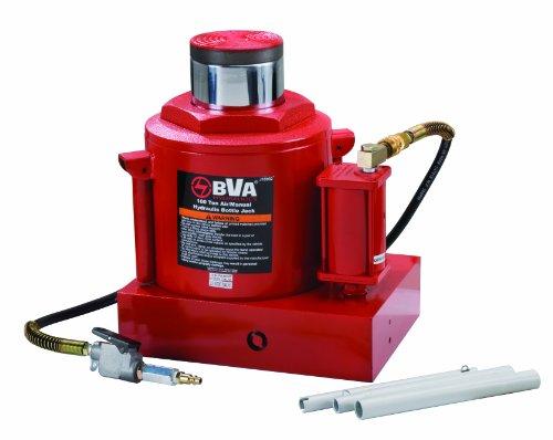 (BVA Hydraulics J18992 100 Ton Air/Manual Bottle Jack)