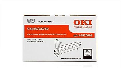 Original Oki 43870008 C5650 Für C 5750 Premium Trommel Schwarz 20000 Seiten Bürobedarf Schreibwaren