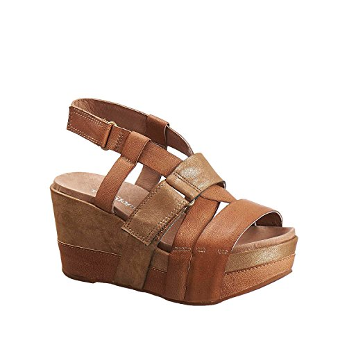 Sandali In Pelle Antelope Donna 850 Over Taupe A Fascia
