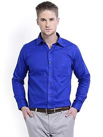 Skorpio 12001-03 Casual Shirt For Men - 40 Us, Blue