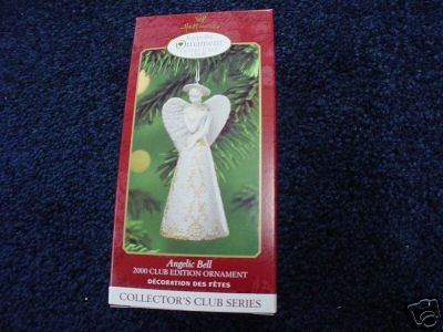 Angelic Bell 2000 Hallmark Ornament