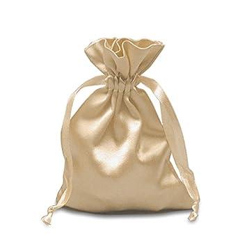 Amazon.com: Marfil satinado bolsas 3