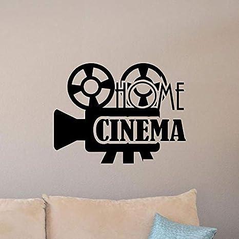 Cine en casa tatuajes de pared Película Cartel de Cine Signo ...