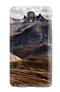 CaseyKBrown Galaxy Note 3 Hybrid Tpu Case Cover Silicon Bumper French Mountains